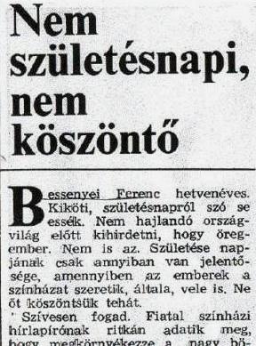 részeges szülinapi köszöntő Bessenyei Ferenc honlapja–Egyéb részeges szülinapi köszöntő